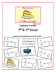 """""""Piece of Cake!"""" Equivalent Fractions 3rd & 4th Common Core Grade Game Packet"""