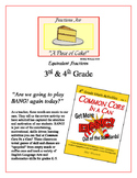 """""""Piece of Cake!"""" Equivalent Fractions 3rd & 4th Common Cor"""