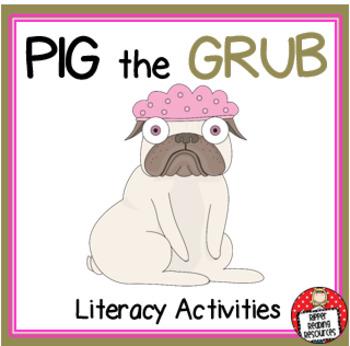 Aaron Blabey - Pig the Grub - Literacy Activities