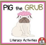 Aaron Blabey - Pig the Grub - Literacy Activities