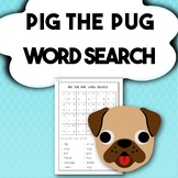 'Pig the Pug' Word Search