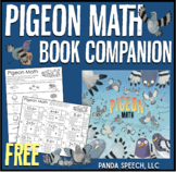 """Pigeon Math"" Book Companion FREEBIE"