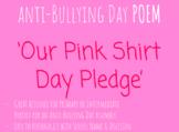 'Pink Shirt Day Pledge' POEM (Colour)