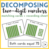 Place Value Center | Decomposing 2-Digit Numbers by Matchi