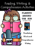 """Planets Around The Sun"" Activities for Reading, Writing, & Comprehension"