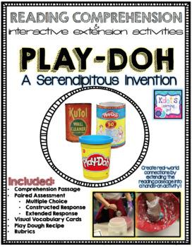 """Play-Doh: A Serendipitous Invention"" Test Prep, Comprehen"