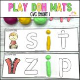 Play Dough Mats Sight Words CVC Short I Phonics
