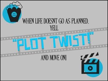 """""""Plot Twist!"""" Classroom Poster"""
