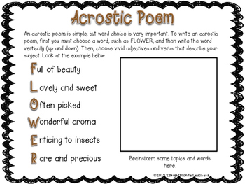 {{Poetry Made E-Z! A Complete Poetry Unit}}