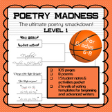 """""""Poetry Madness"""" Middle School Poetry Tournament--Level 1"""