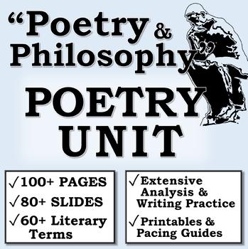 """Poetry and Philosophy"" (High School/AP Literature) Poetry Unit Plan"