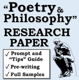 """""""Poetry and Philosophy"""" Research Paper"""
