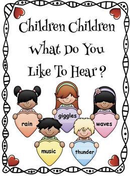 """Polar Bear What Do You Hear?"" Sound-Themed Activities"
