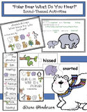 Polar Bear What Do You Hear Literacy Activities Great For