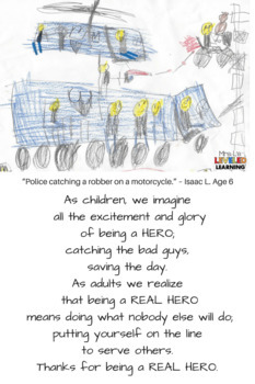 (Police, Firefighter) Hero Appreciation  #WeHoldTheseTruths #KindnessNation