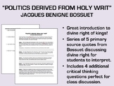 """""""Politics Derived from Holy Writ"""" - Bossuet - Absolutism/Divine Right"""