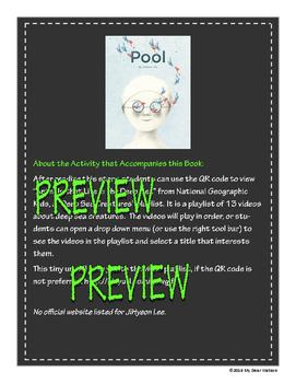 """Pool"" - GA Picture Book Award Nominee 2016-2017"