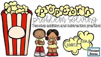 """""""Popcorn"""" Problem Solving {3.OA.8}"""