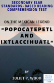 """""""Popocatepetl and Ixtlaccihuatl"""" Mexican Legend by Juliet P. Wood Reading Test"""