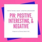 PIN: Positive, Interesting, Negative & Positive, Negative, Neutral Charts