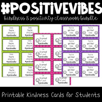 #PositiveVibes: Random Acts of Kindness for the Classroom