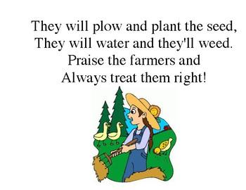 """""""Praise the Farmers"""" a Visual Songbook"""