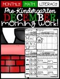 (Pre-Kindergarten) DECEMBER Morning Work