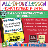 ⭐Pre-Roman Civilizations Interactive Notebook & Distance L