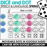 Spring Speech Therapy   Dice & Dot   Google Slides™
