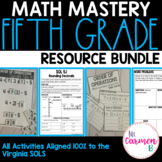 Virginia 5th Grade Math Resource Bundle