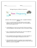 """Pregnancy Pact"" Movie Reflection Questions and Answer Key"