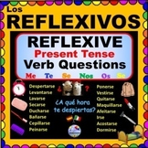 REFLEXIVE Verbs in SPANISH -  Questions with Present Tense