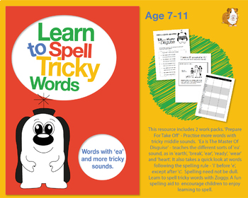 'Prepare For Take Off' Learn To Spell More Words With Tricky Middle Sounds 7-11