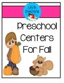 Preschool Centers For Fall