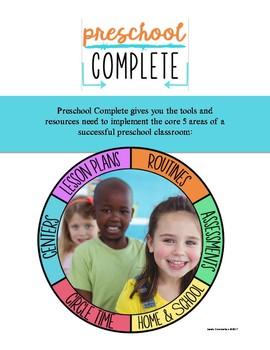 """""""Preschool Complete"""" Curriculum"""