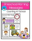 Preschool Morning Meeting - Counting At School