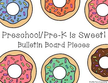 Preschool/Pre-K is Sweet! Donut Bulletin Board Pieces