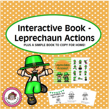 Leprechaun Actions and simple reader