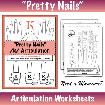 """Pretty Nails"" Articulation - /k/"