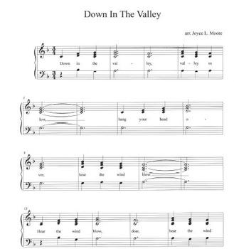 THREE Easy Tone Chimes & Bells arrangements FOLK SONGS #2