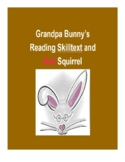 (Primary Grades) Grandpa Bunny's Reading Skilltext for Red