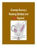 (Primary Grades) Grandpa Bunny's Reading Skilltext for Red