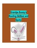 (Primary Grades) Grandpa Bunny's Reading Skilltext for Spotty