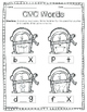 **Print & Go** CVC Printables - Penguin Themed (EDITABLE!)