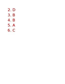 """""""Probuditi"""" Quiz Questions (Standards RL2.2, RL2.1, RL3.1, RV2.1)"""