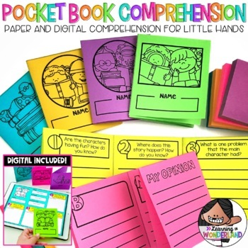 Comprehension Activities (Comprehension Mini Books)
