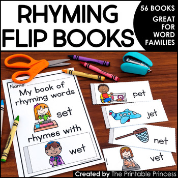 Rhyming Words Flip Books
