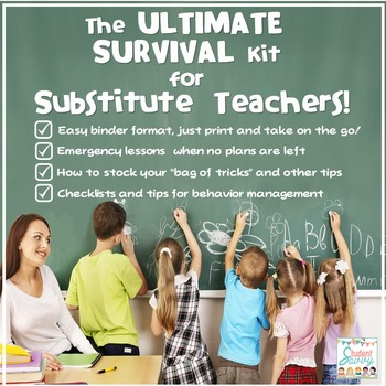 Substitute Teaching Ultimate Survival Kit