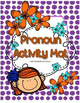 {{Pronoun Activity Mat FREEBIE!}}