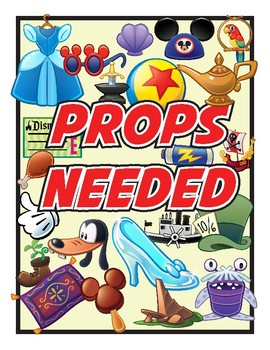 """""""Props Needed"""" Sign"""